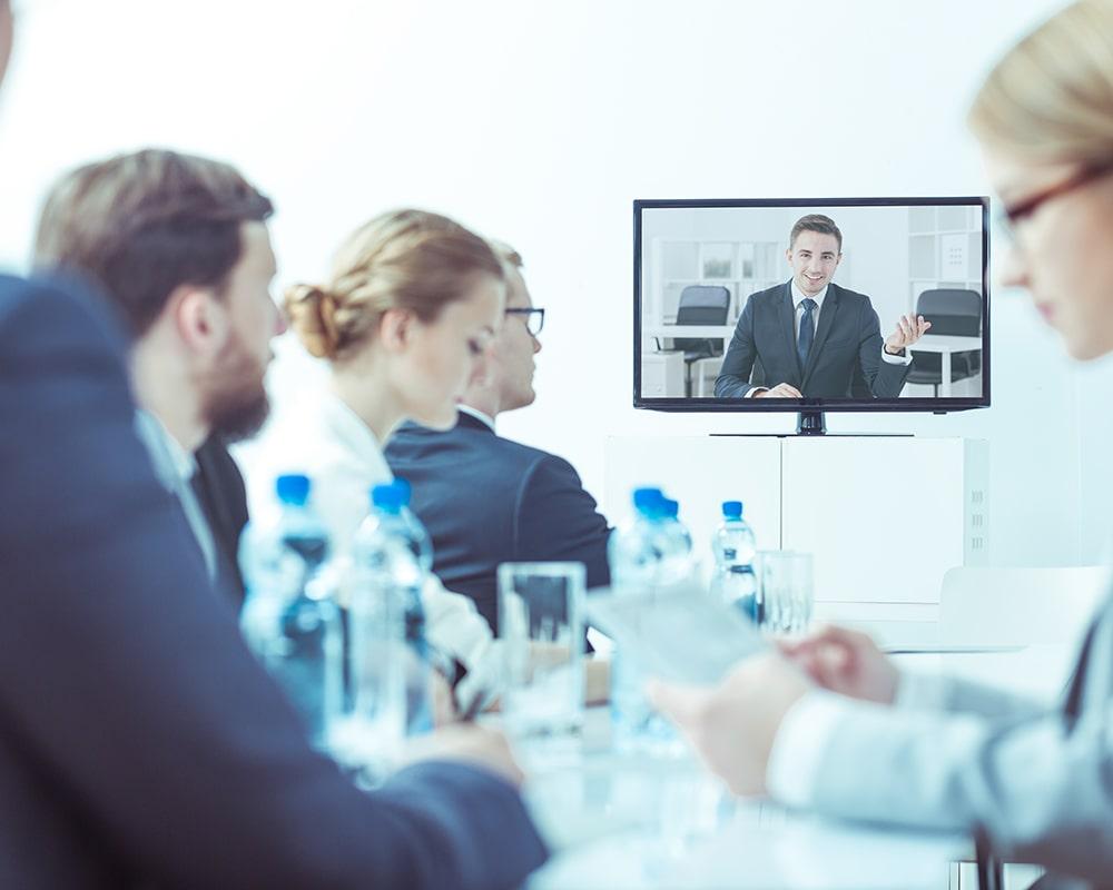 Video Konferenz Lösungen für Unternehmen